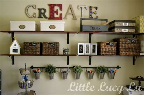 Craft Room Decor by Wordy Motivation 12 Craft Room Decor Ideas