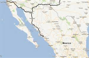 road map mexico mexico trip failed expedition hurricane