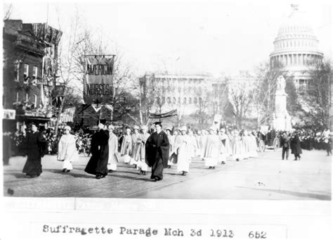 suffragists in washington dc the 1913 parade and the fight for the vote american heritage books voting rights for