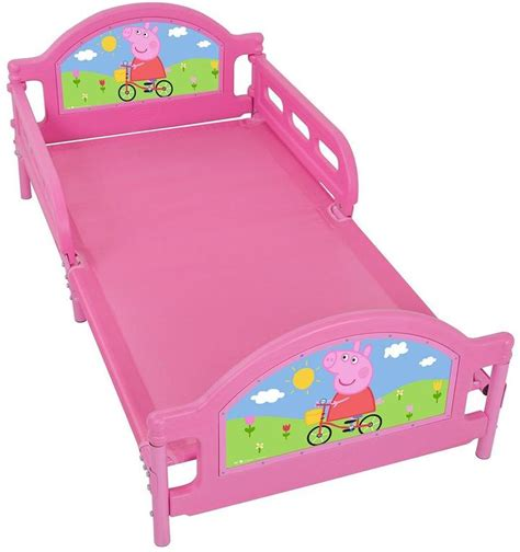 toddler bed age range peppa pig tulip toddler bed shopstyle co uk kids