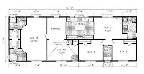 Sizes Of Mobile Homes | mobile home sizes design ideas residence plans floor