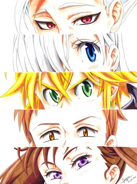 Kaos Anime Nanatsu No Taizai Meliodas Pikapikani nanatsu no taizai ban elizabeth meliodas king and diane the seven deadly sins