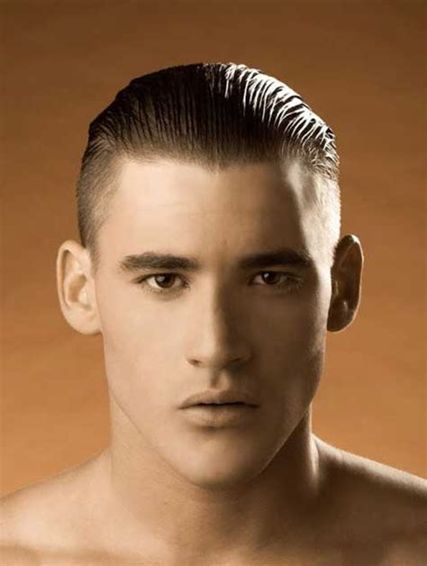 hair sides and back 10 slicked back hairstyles for men mens hairstyles 2017