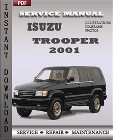 online auto repair manual 2001 isuzu trooper security system isuzu trooper 2001 service repair servicerepairmanualdownload com