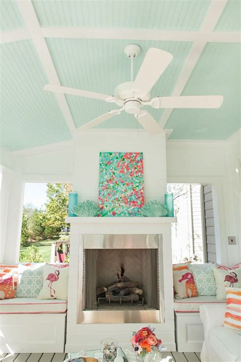retro inspired coral and aqua living room color palette outdoor living room beachy colors and accessories you