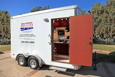 mobile recording studio mobile recording studio los angeles mobile sound booth