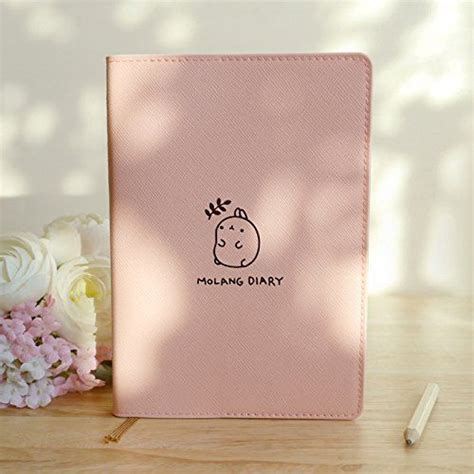 molang books molang diary ver 3 undated planner journal scheduler