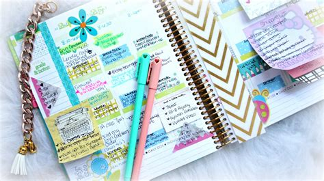Decorate Planner by How To Organize And Decorate Your Planner