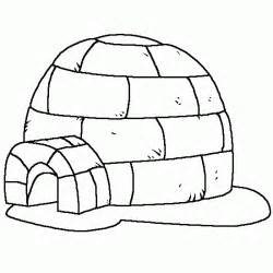 igloo coloring page free coloring pages of what an igloo
