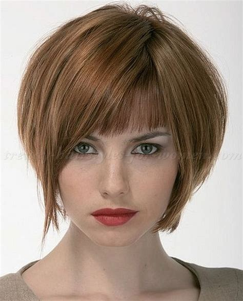 bob hair styles for double chin chin length inverted bob short hairstyle 2013