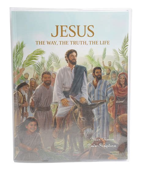 jesus lifestyle books jesus the way the the clear vinyl book cover