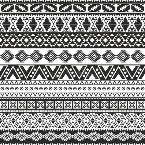 tribal pattern free stock tribal seamless pattern stock vector illustration of