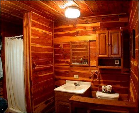 Cabin Bathrooms Ideas by Log Cabin Bathroom Designs 187 Design And Ideas