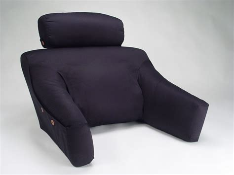 back bed pillow bedlounge back support pillow w cover bedlounge