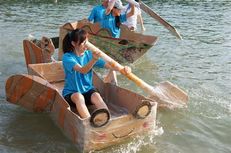 boat building challenge the cardboard boat building challenge jambar team building