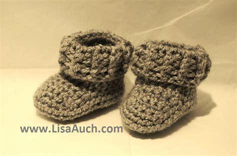 baby boy booties free crochet baby boy booties pattern