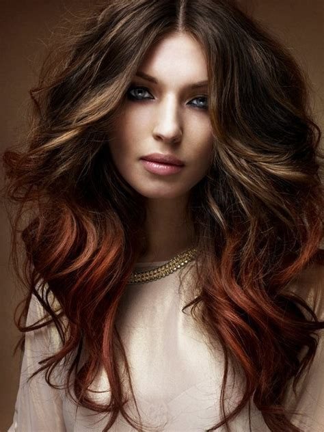 new hairstyles and highlights pictures fall hairstyle ideas new haircuts and colors