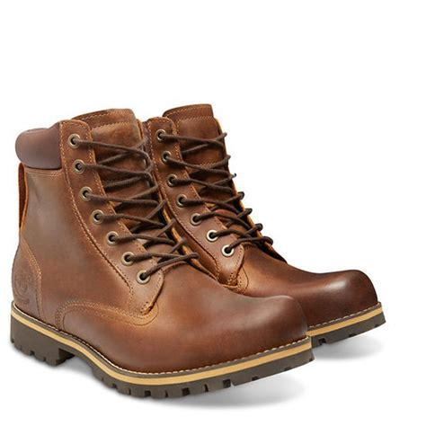 timberland earthkeepers rugged 6 boot timberland earthkeepers rugged 6 inch waterproof plain toe boot s copper roughcut