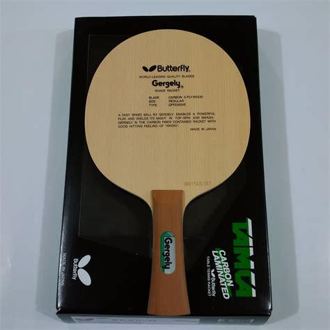 Meja Pingpong Butterfly jual kayu blade pingpong tenis meja butterfly gergely