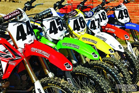 motocross action 450 shootout 2015 mxa 450 shootout the needy the disgruntled