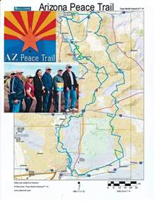 arizona atv trails map utv magazine ride spot arizona peace trail