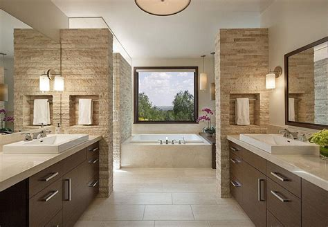 Real Estate Marketing Floor Plans by Contemporary Master Bathroom With Porcelain Tile Floor