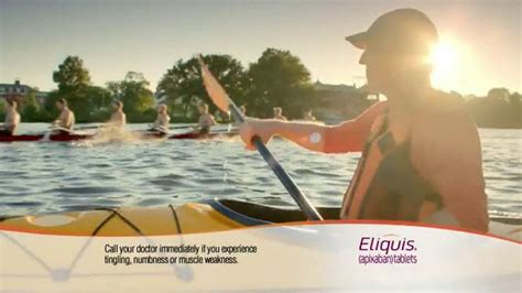 Who Is The Kayaker In The Eliquis Commercial | eliquis tv commercial kayaker ispot tv