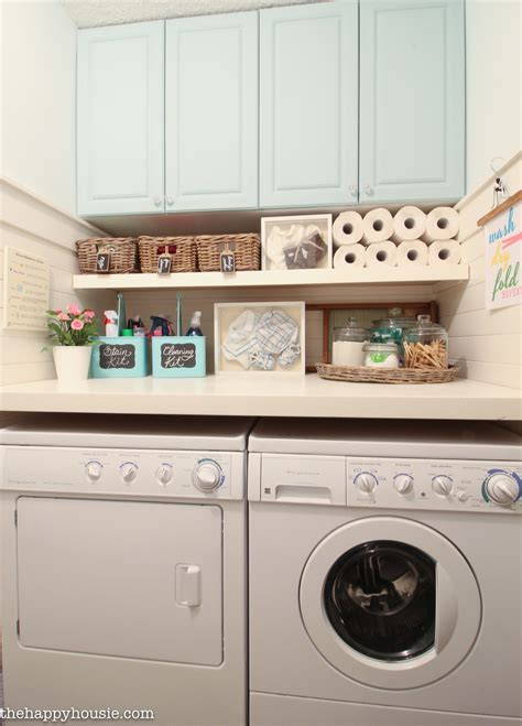 How to Completely Organize Your Laundry Room in Three Easy
