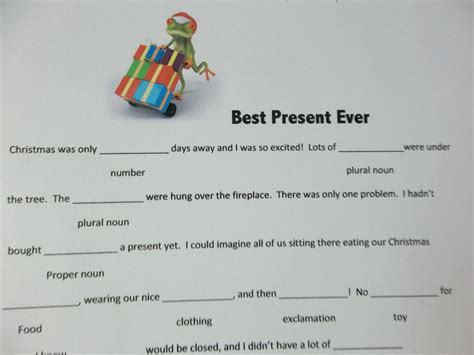 7 best images of mad libs printable christmas cookies
