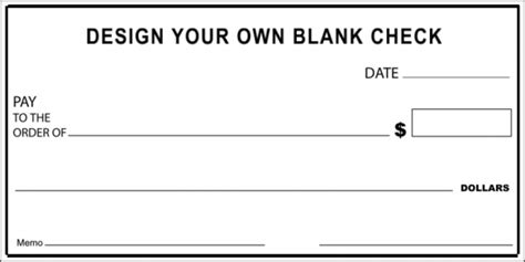 Check Examples Oversize Checks Print Your Own Checks Template