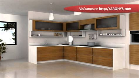 cocinas integrales de madera youtube