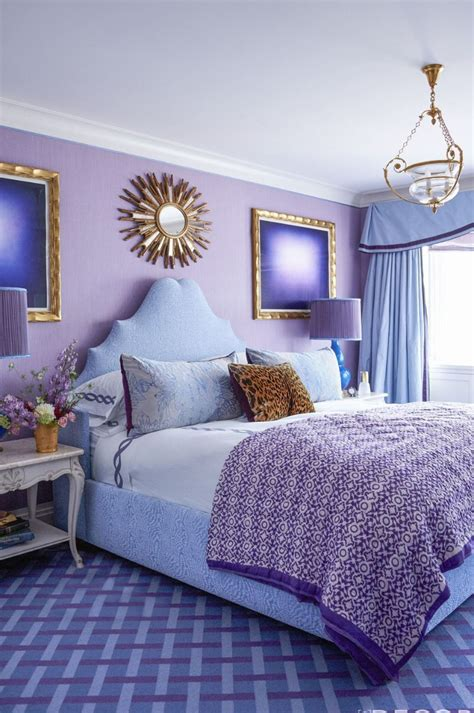 summer trends purple bedrooms for a stylish room design