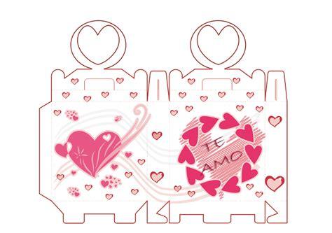 moldes de cajitas para san valentin pareja en san valent moldes de cajas arte taringa