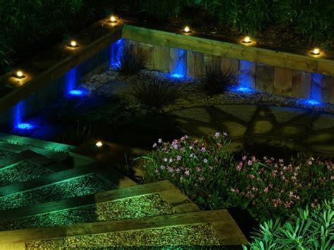 Home Design 3d Exterior by How To Use Led Garden Lights For Garden Decoration 37 Ideas