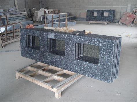prefab granite bathroom vanity countertops prefab blue pearl granite vanity for bathroom countertops
