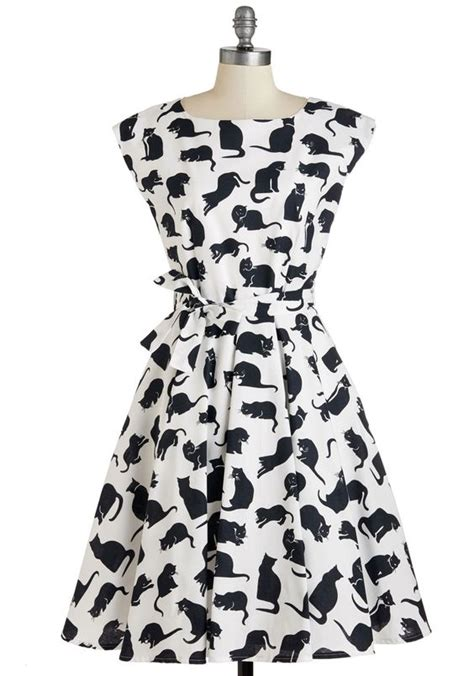 Dress Cat dresses dresses retro vintage style