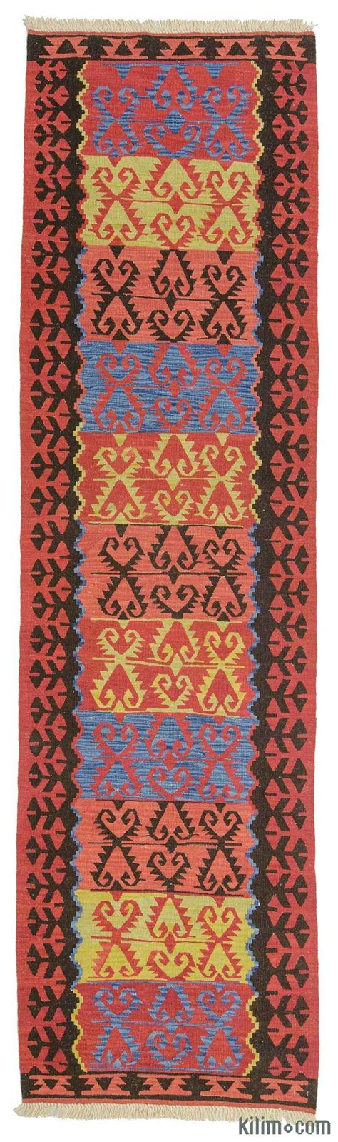 Kilim Runner Rugs K0010798 New Turkish Kilim Runner Rug