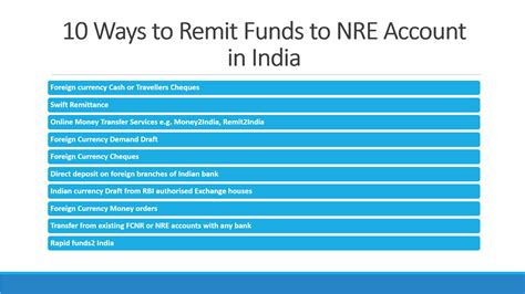 best indian bank for nri account 10 ways to send money to nre account in india nri