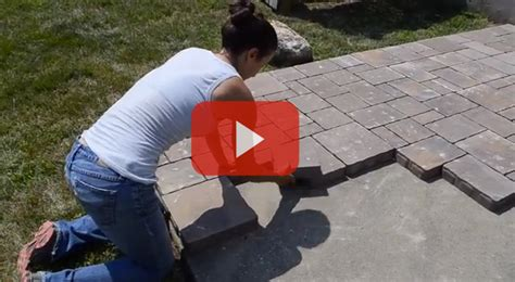How To Lay A Patio On Concrete by Diy Outdoor Living How To