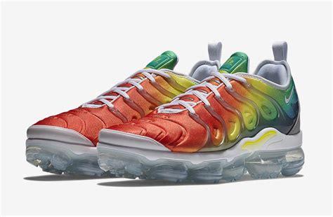 new year vapormax release date nike air vapormax plus rainbow 924453 103 sneaker bar
