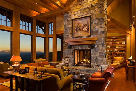 mountain house interior design mountain style eclectic living room other metro by