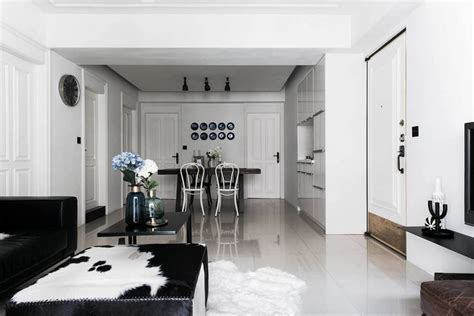 Interior Design Black And White Living Room - home project scandinavian style mix home