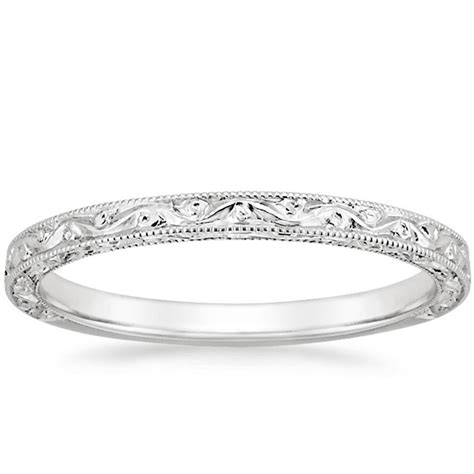 5 vintage style wedding rings brilliant earth