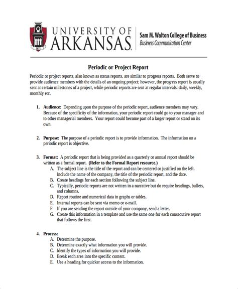 business plan project report format 17 business report exles pdf word