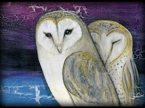 watercolor owl tutorial painting colorful owl painting tutorial time lapse by