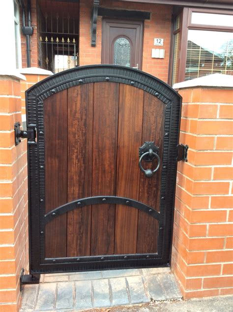 small wood and wrought iron gates různ 233 pinterest wrought iron gates iron gates and