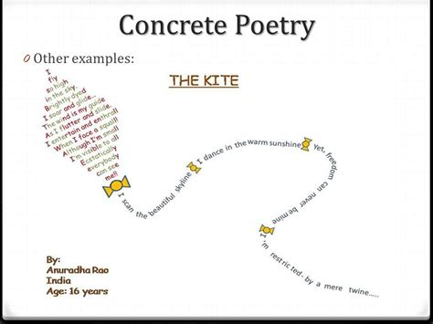 exles of concrete poems yourdictionary also known as shape poetry ppt video online download