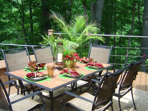 outdoor table ideas outdoor entertaining tips for summer hgtv