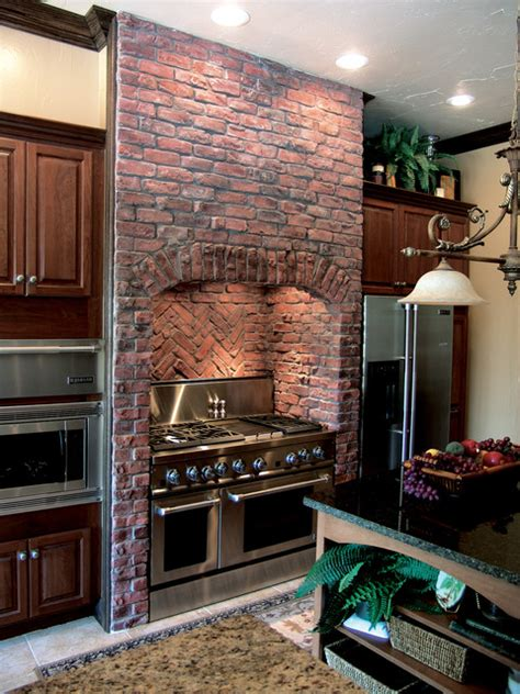 antique brick kitchenclassic kitchens with traditional and traditional clinker brick kitchen coronado stone thin