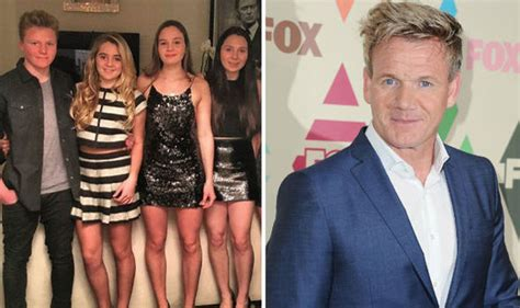 gordon keith s daughter gordon ramsay slammed after sharing snap of daughters in